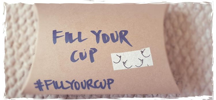 The Boob Lady at the #fillyourcup day